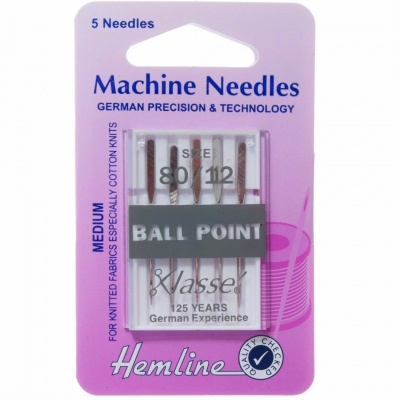 Klasse Ball Point 80/12 Needles