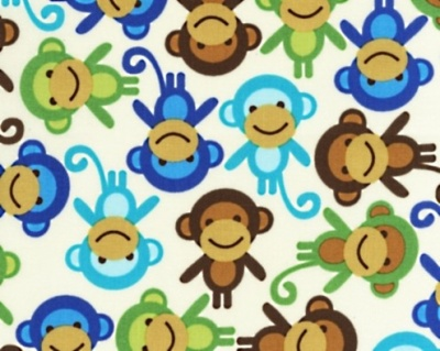 Urban Zoologie Monkey Royal Cotton