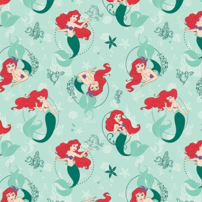 Disney's Little Mermaid Cotton