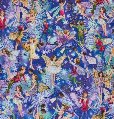 Flower Fairies Enchanted Twilight Cotton