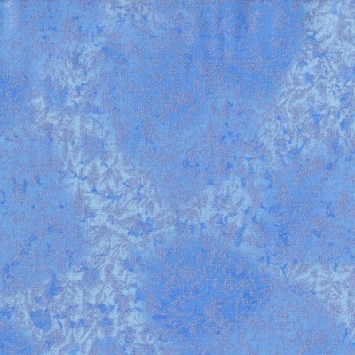 Fairy Frost Periwinkle Cotton