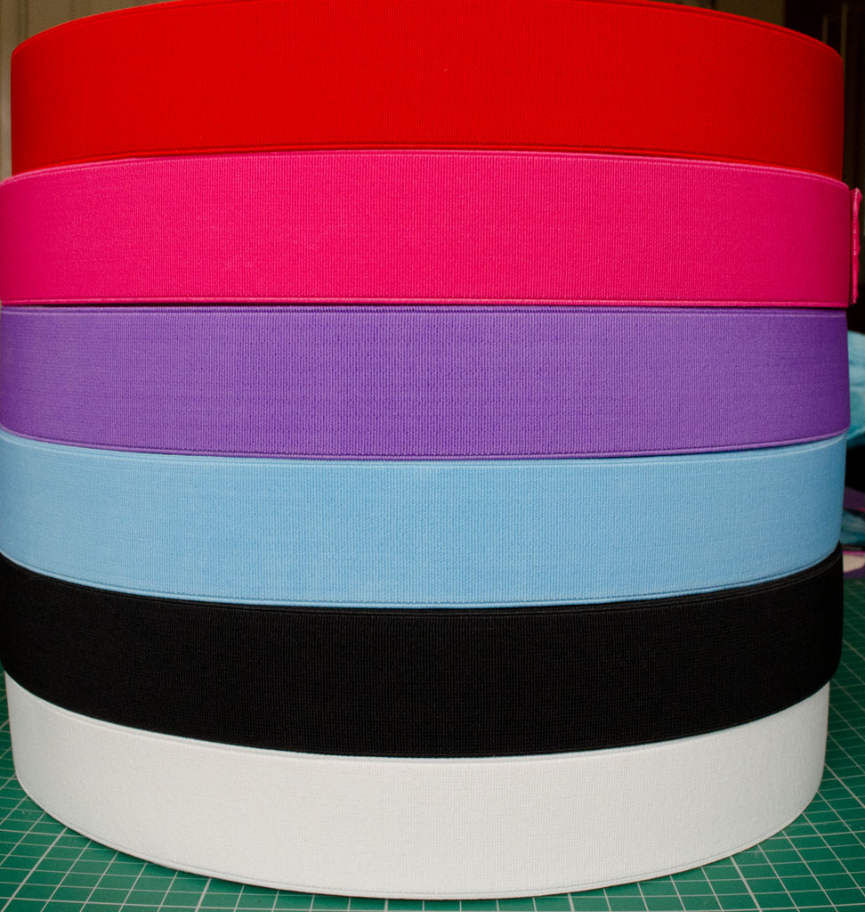 Rooftop Fabrics 4cm Waistband Elastic By Rooftop