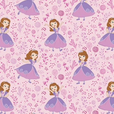 Light Pink Sofia The First Disney Cotton