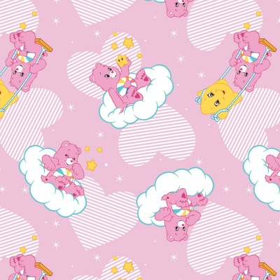 Care Bears Pink Hopeful Heart Bear Cotton