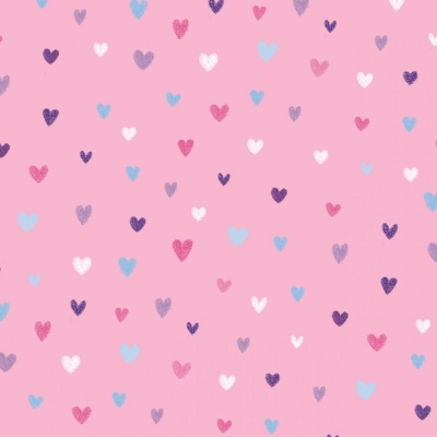 Pink Small Hearts Cotton