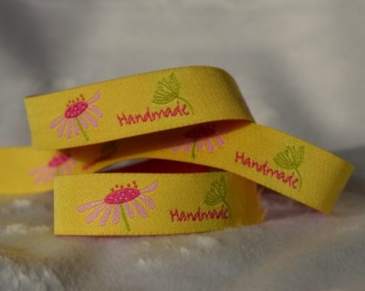 Handmade Yellow Ribbon