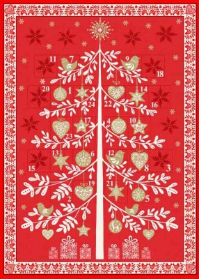 Scandi 2018 Advent Panel Metallic