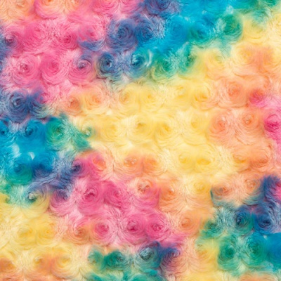 Rainbow Rose Plush Sorbet