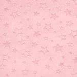 Star Embossed Blush Plush