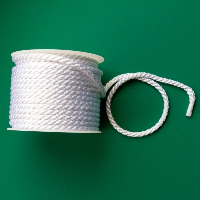 White Crepe Cord 6mm