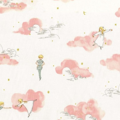 Peter Pan Blossom Peter & Wendy Metallic Cotton