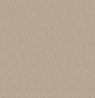 Winter Light Chestnut Dots Cotton