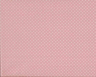 Baby Pink Spot Cotton