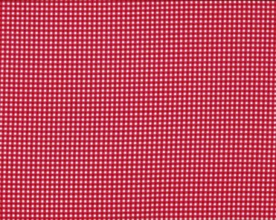 Red Gingham Cotton