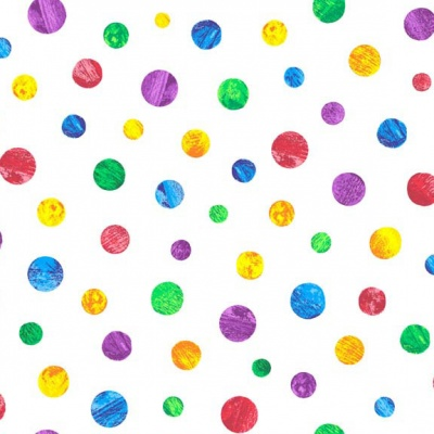 VHC Coloured Dots Cotton