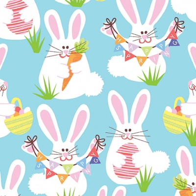 Funny Bunnies Cotton
