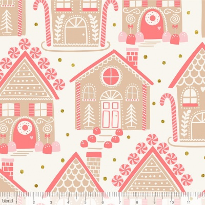 Gingerbread Lane Ivory Cotton