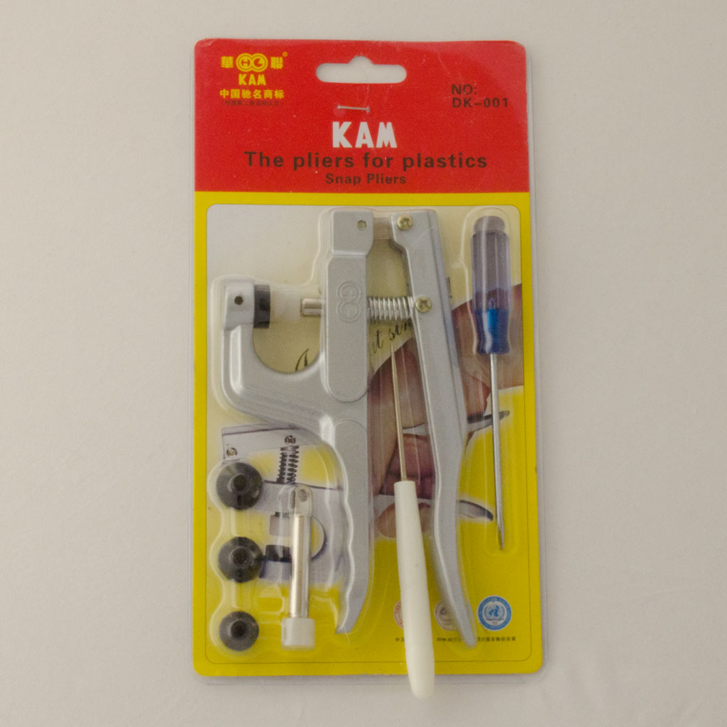 KAM Snap Pliers with 20 Free Snaps