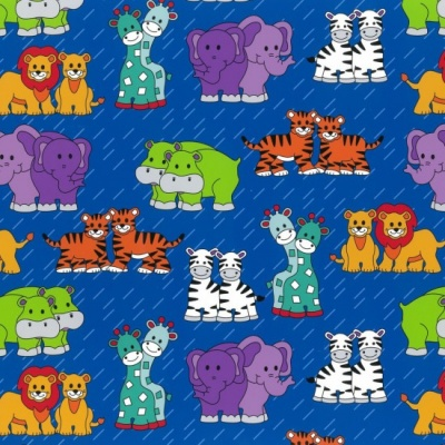 Little Noah Animals Royal Cotton