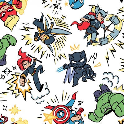 Marvel Kapow Cotton