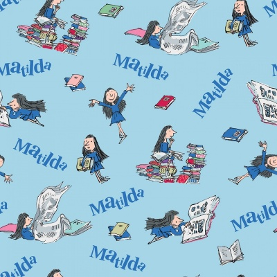 Matilda Main Blue Cotton