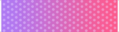 Party Unicorns Ombre Dot Pink Cotton