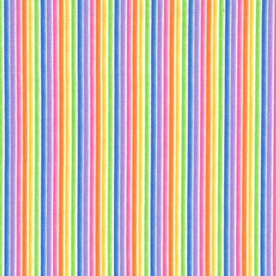 Over The Rainbow Stripe Cotton