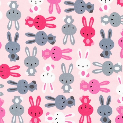 Urban Zoologie Rose Bunny Cotton