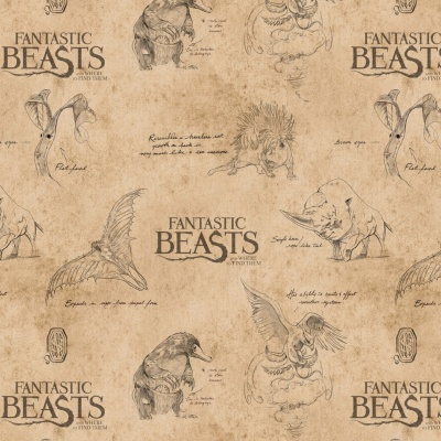 Tan Logo & Creatures Fantastic Beasts