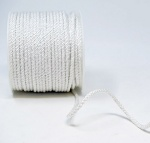 4mm White Lacing Cord