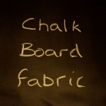 Chalk Board Fabric