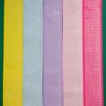 4cm Plush Waistband Elastic with Silver Thread