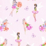 Blossom Fairy Frolic Cotton