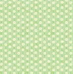 Honey Bunny Buttercups green Cotton