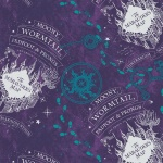 Purple Compass Marauders Map Flannel