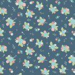 Fairy Edith Bouquet Blue Cotton
