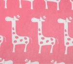 Giraffa Paris Pink Plush
