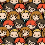 Harry Potter Multi Kawaii Cotton