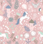 Unicorn Forest Pink Jersey
