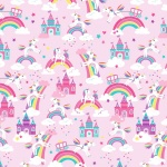 Unicorn Magic Unicorn Dreams Lilac Cotton Pearlescent