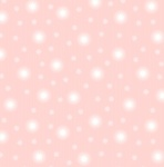 Fairy Nights Pale Pink Starry Sky Cotton