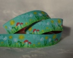 Summer Meadow Turquoise Ribbon