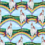 Unicorn-O-Copia Unicorns Cotton