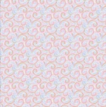 Unicorn Utopia Multi Swirls Cotton Metallic